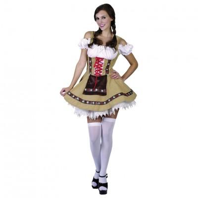 Tyroler Kjole Kostyme