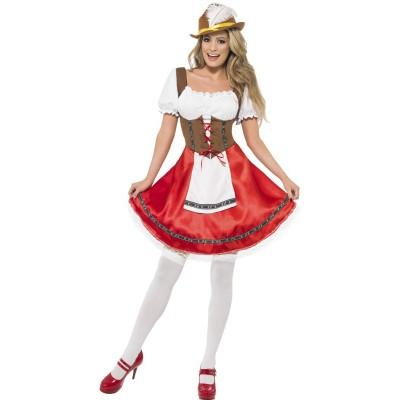Bayersk Jente Karnevalsdrakt