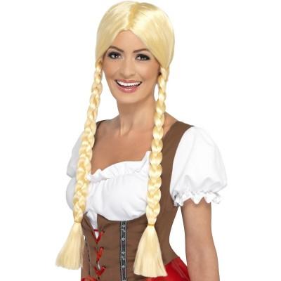 Blond Bayersk Parykk