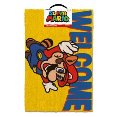 Super Mario Dörrmatta Welcome