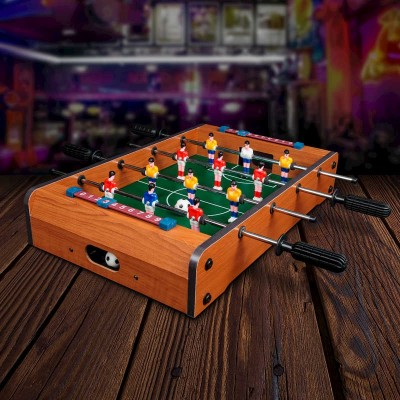 Fotbollsspel Miniatyr i Trä
