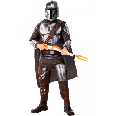 Star Wars the Mandalorian Maskeraddräkt Vuxen