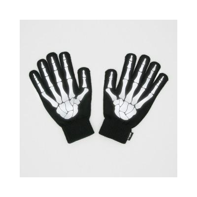 Handskar Reflekterande Skeletthänder