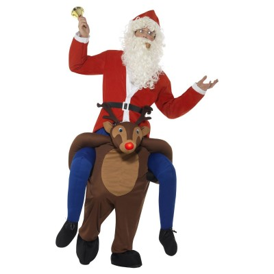 Ridande Jultomte på Rudolf