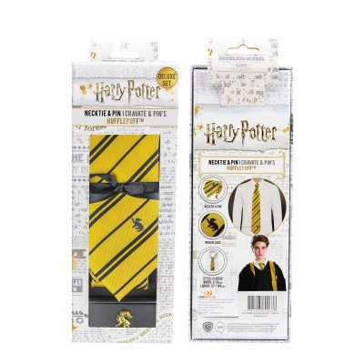 Harry Potter Hufflepuff Slips med Pin