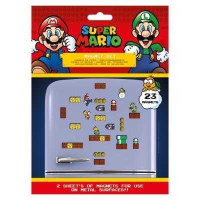 Super Mario Mushroom Set Kylskåpsmagneter