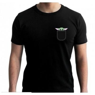 Star Wars the Mandalorian Baby Yoda T-shirt Svart